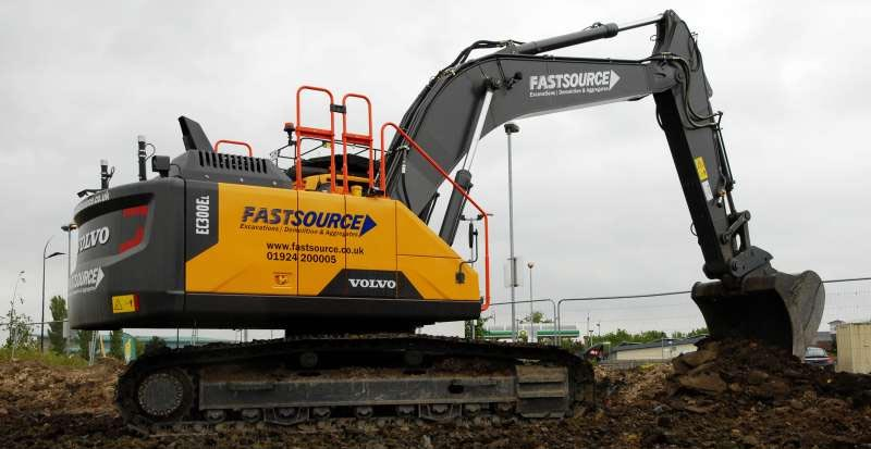 Fastsource new excavator