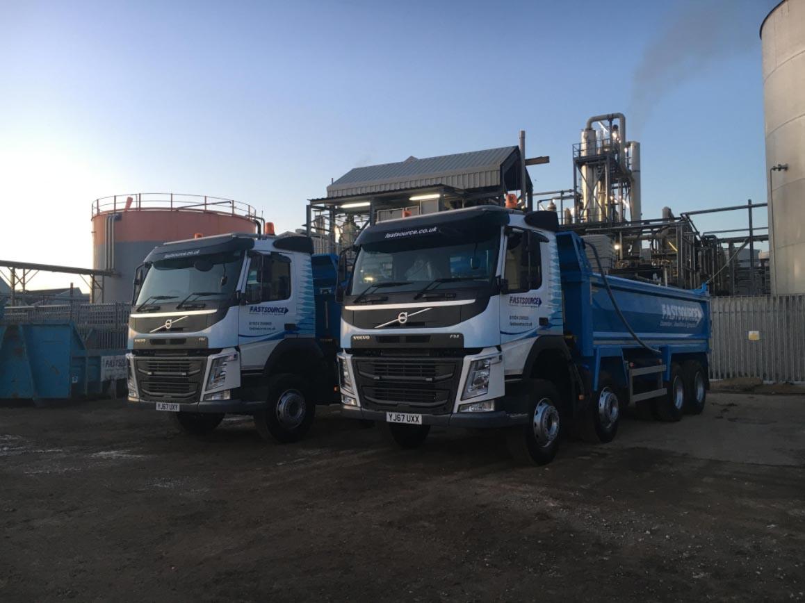 New 8 wheeler trucks