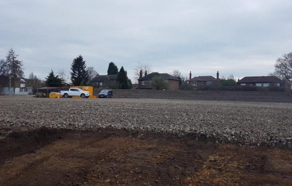 Walton site progress