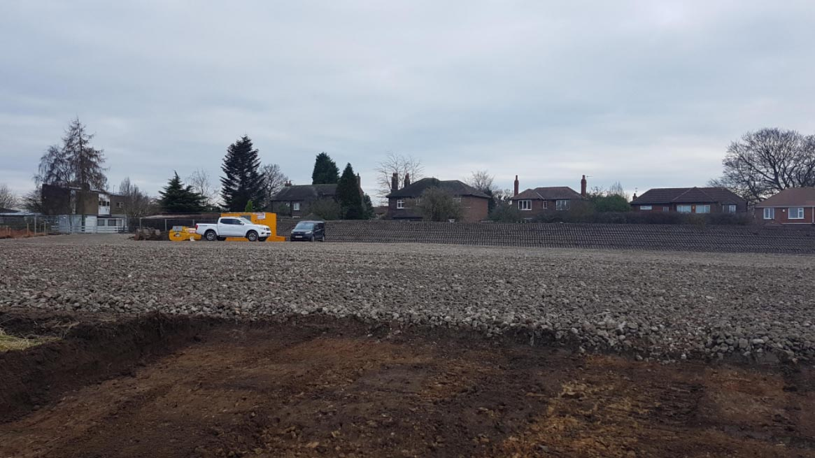 Walton site progress